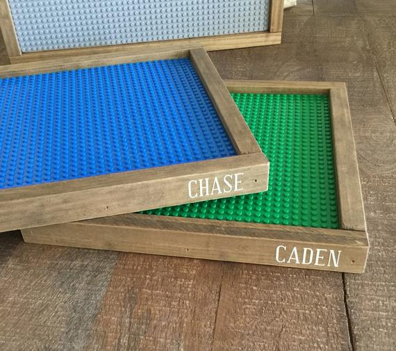 personalized lego tray