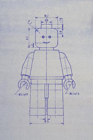 lego minifig blueprint