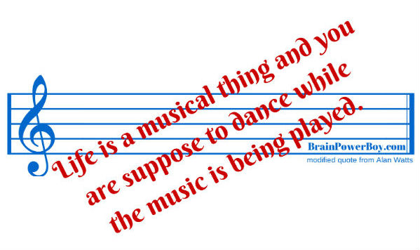 Life is a Musical Thing, Is This What Boys Are Learning? | BrainPowerBoy.com