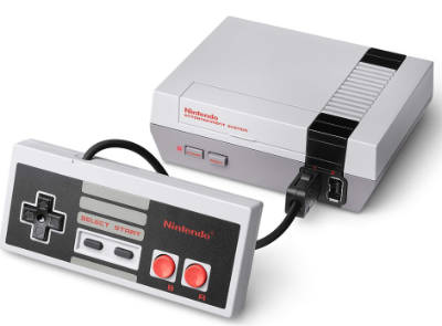NES for retro classic video fans