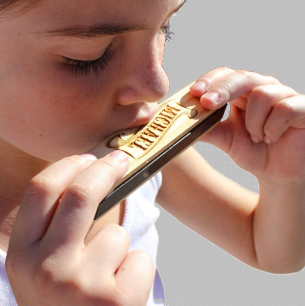 Peronalized Wooden Harmonica