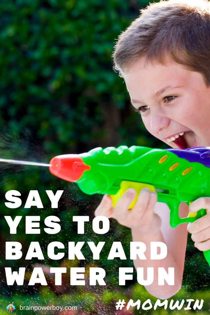 Awesome ways to get your kids playing in your own backyard. No pool required! Grab a few ideas and they will be splashing, running, laughing, and staying cool all summer long.