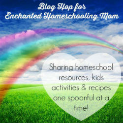 Find wonderful book sensory bins in this blog hop for Enchanted Homeschooling Mom.