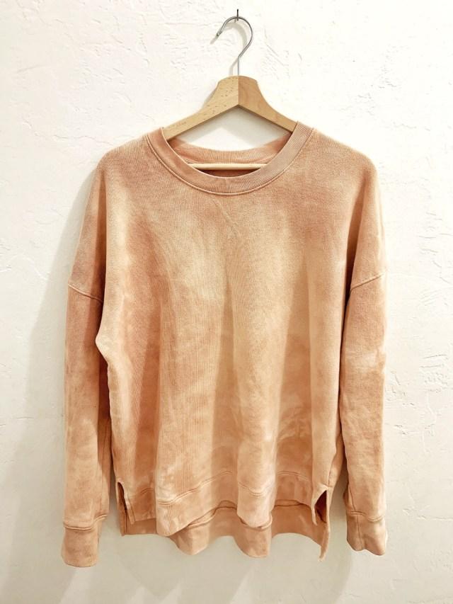 Soft Creamy Dyed Sweatshirt