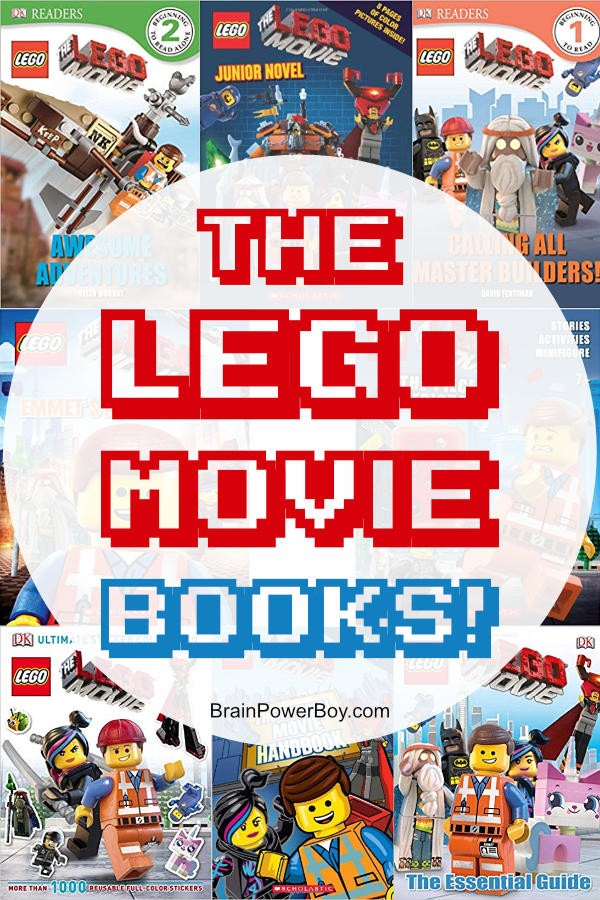 The LEGO Movie Book List